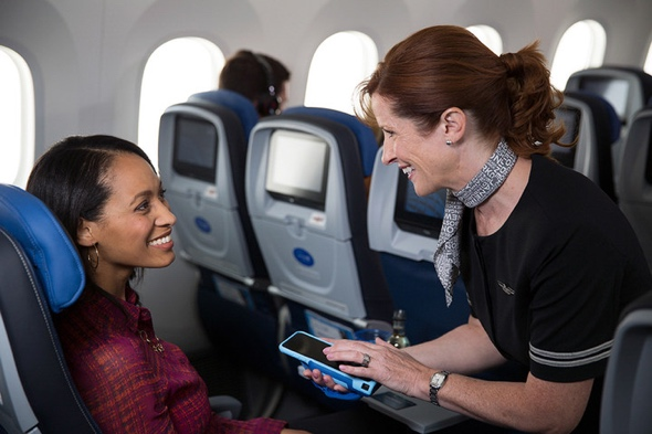 IBM MobileFirst for iOS apps will help digitally transform how United employees engage with their customers (photo: United)