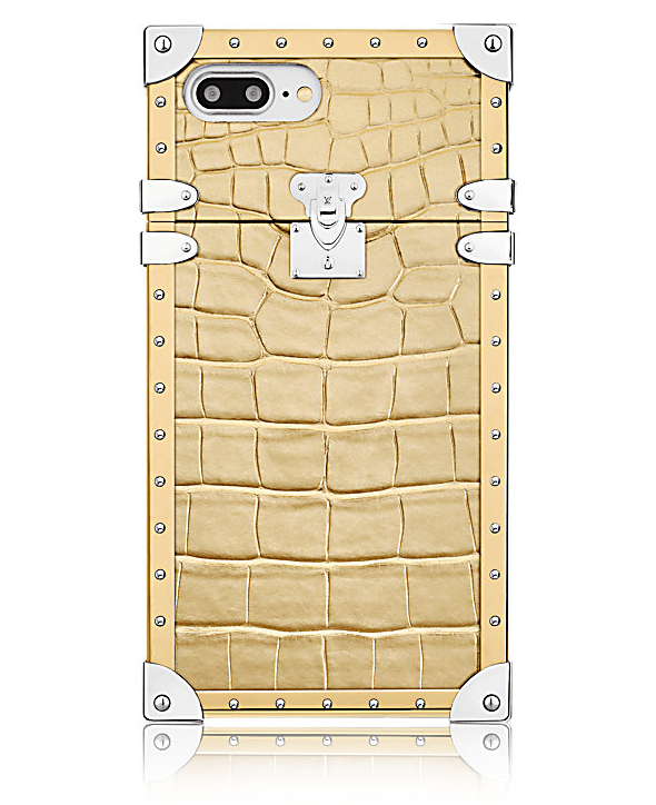 Eye-Trunk for iPhone 7 Plus in precious Golden Crocodile leather - $5,500,00 via Louis Vuitton