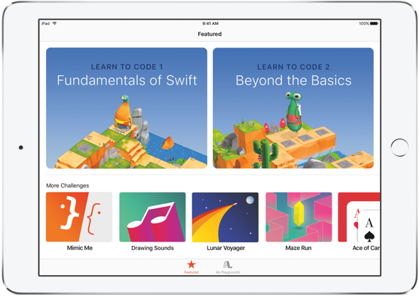 Apple's Swift Playgrounds for iPad