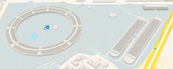 Apple Maps now offers 3D models of Apple Park, Steve Jobs Theater, walkways, and more