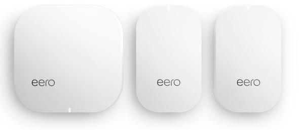eero's 2nd generation  Home Wi-Fi System (1 eero + 2 eero Beacons)
