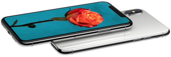Apple's iPhone X. Say hello to the future.
