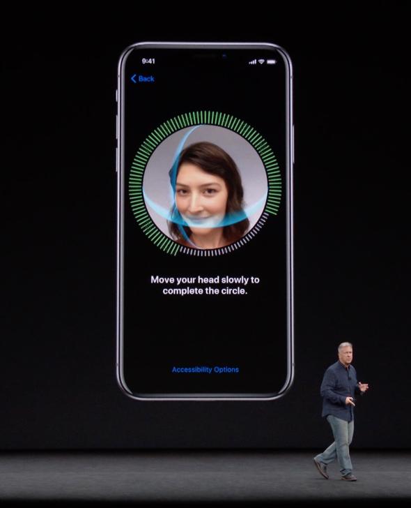Apple Senior VP, Philip W. Schiller, explains Face ID during Apple's September 12th event