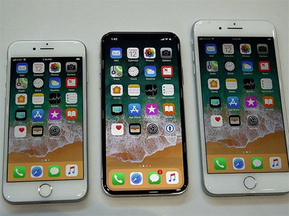 Apple's iPhone 8, iPhone X, and iPhone  8 Plus