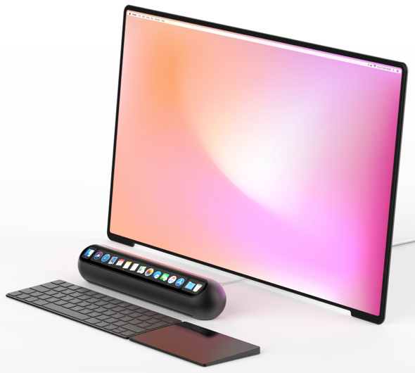 Taptop computer concept by Louis Berger
