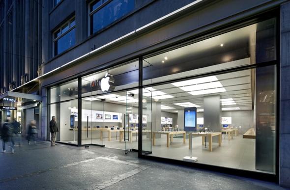 Apple Bahnhofstrasse in Zurich, Switzerland