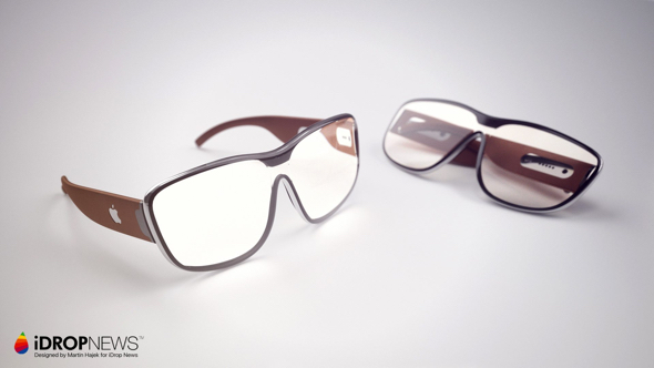 """Apple Glasses"" designed by Martin Hajek for iDrop News"