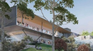 Apple's new retail store proposal for Federation Square in Melbourne, Australia ((Image: Federation Square))