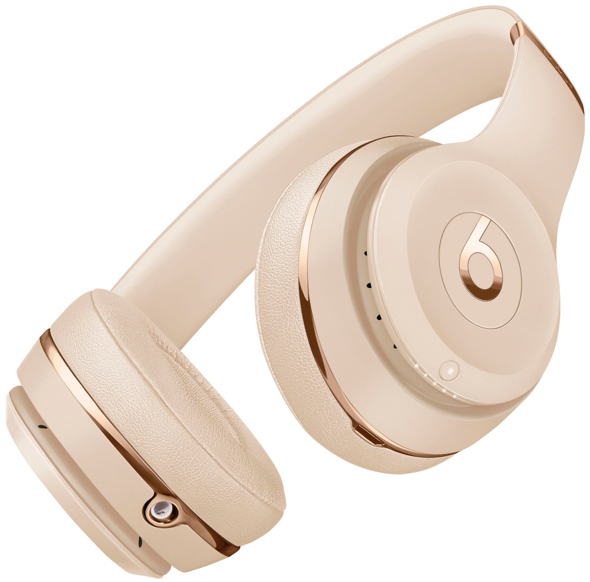 The Beats Solo3 Wireless in satin gold