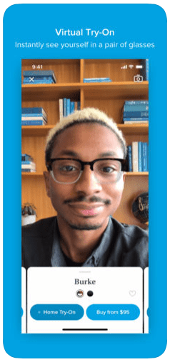 Warby Parker's AR app for iOS lets you try on glasses using your X-class iPhone