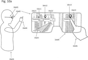 Apple AR Glasses: Apple U.S. patent application illustration