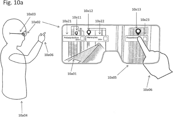 Apple U.S. patent application illustration