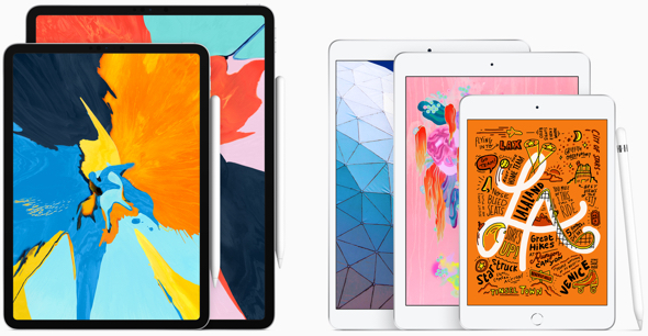 The current Apple iPad lineup includes Apple Pencil support, best-in-class performance, advanced displays and all-day battery life.