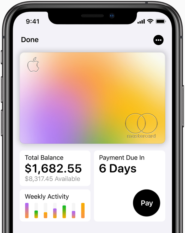 Apple Card offers benefits from MasterCard; base APR lowered to