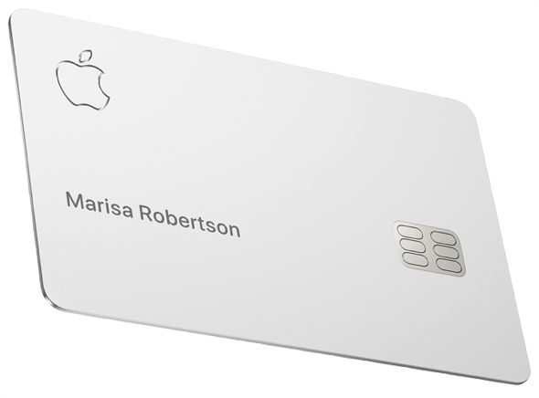 Apple's physical laser-etched titanium Apple Card