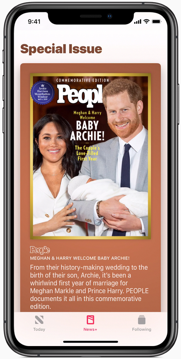 People's special commemorative edition is available only in Apple News+ and on newsstands