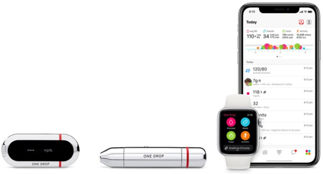 One Drop Chrome Blood Glucose Monitoring Kit - $69.95 at the Apple Store