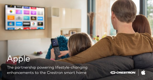Creston remotes now support Apple TV, Siri, and HomeKit