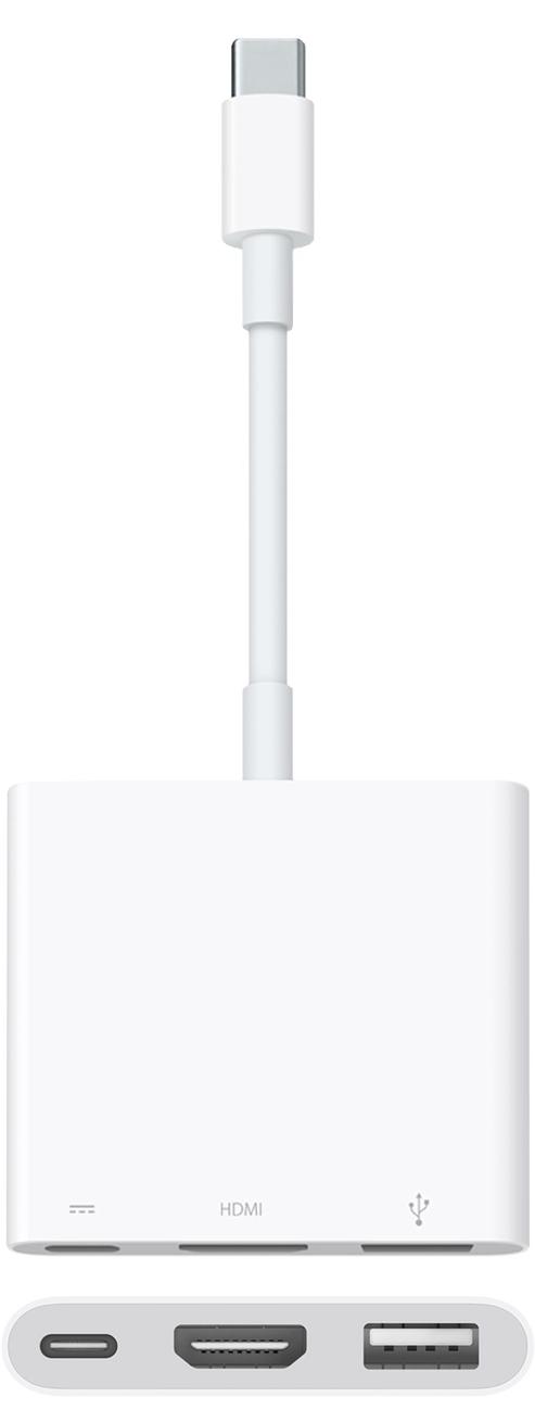Apple's new USB-C Digital AV Multiport Adapter with HDMI 2.0 support