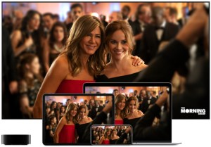 """ViacomCBS streaming service to launch. Pictured: Apple TV+ """"The Morning Show"""""""