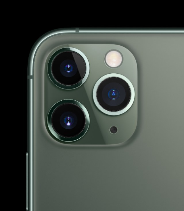 The iPhone 11 Pro and iPhone 11 Pro Max, the most powerful and advanced smartphones ever, feature a triple-camera cluster