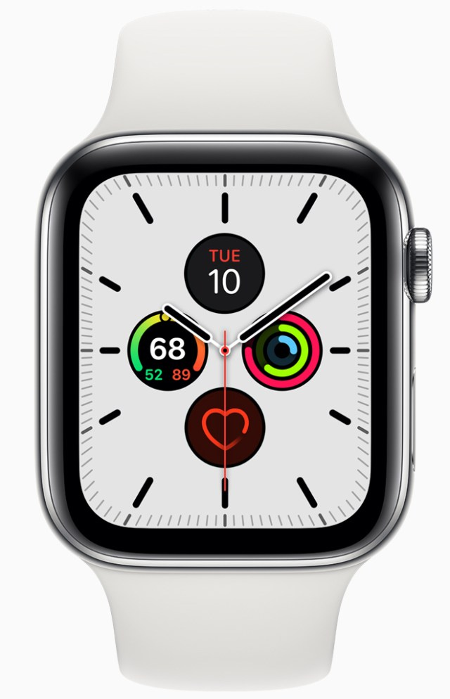 The Meridian face is new to watchOS 6.