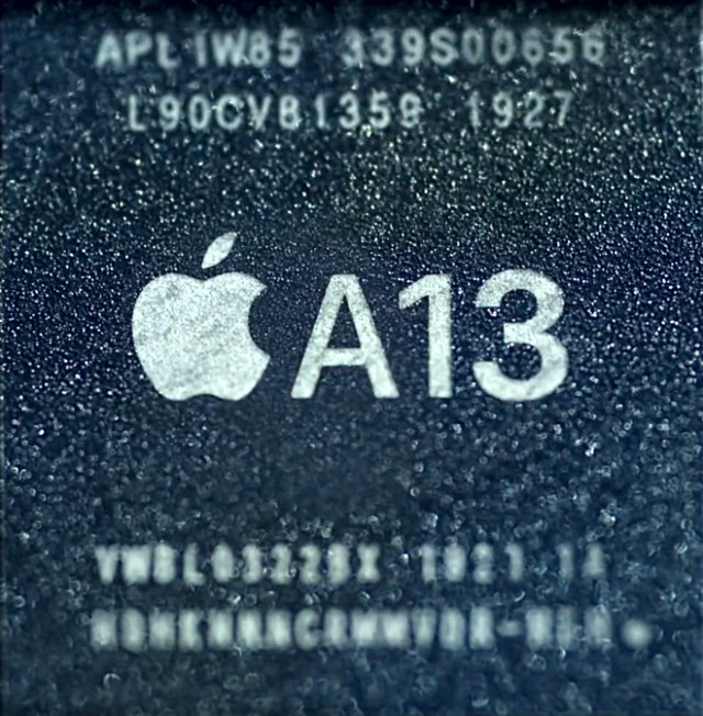 Apple's Arm-based A13 Bionic SoC