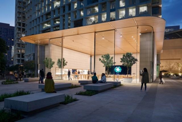 Apple Antara lies in the heart of Mexico City's Polanco district.