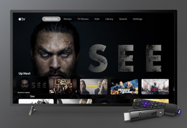 The Apple TV app and Apple TV+ are coming to the Roku Platform