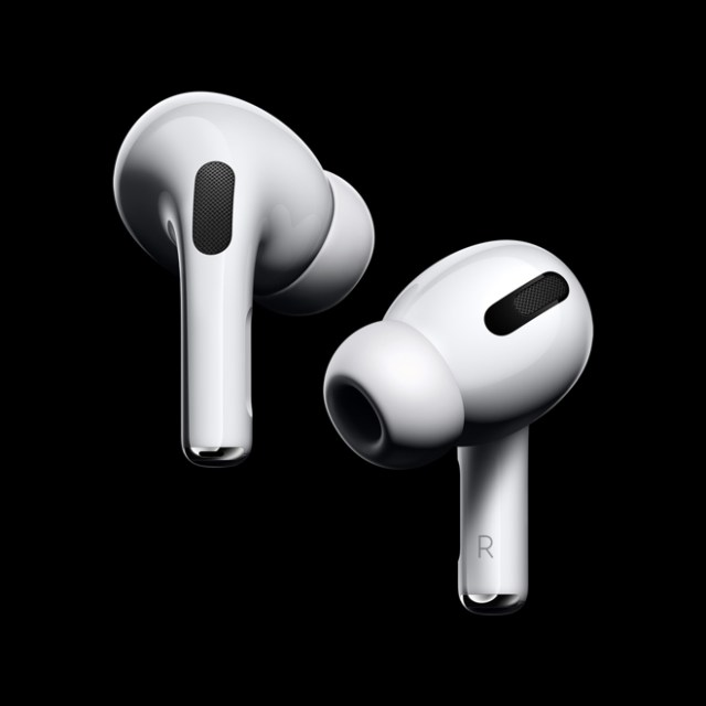 AirPods Pro bring Active Noise Cancellation with superior sound to the AirPods family.