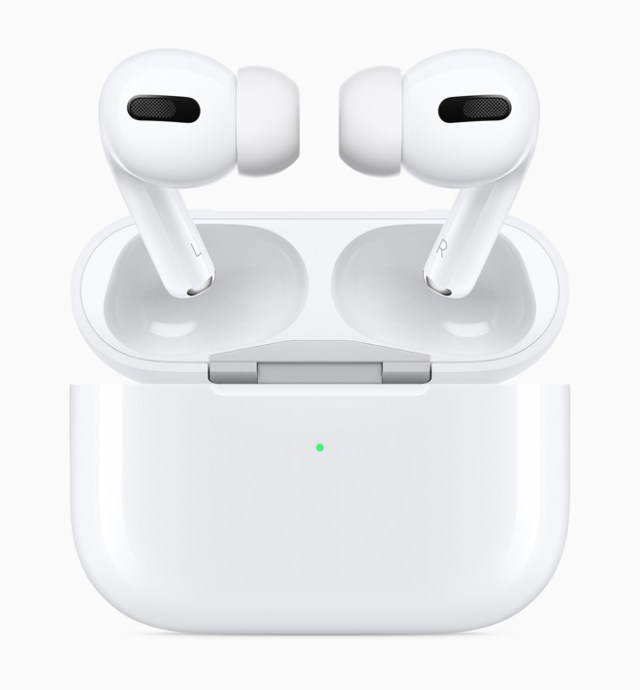 AirPods Pro bring the magic of AirPods to an all-new lightweight, in-ear design.
