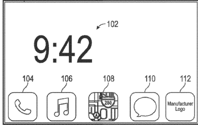 Apple patent filing reveals voice- and touch-based vehicle user interface