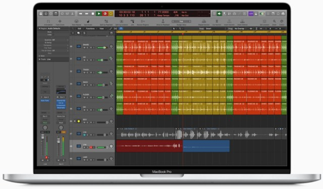 Music producers can play back massive multi-track projects with up to 2.1 times more Amp Designer plug-ins in Logic Pro X.