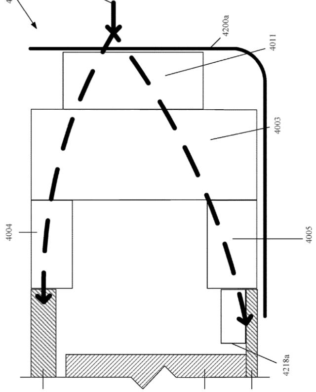 Apple patent illustration for vehicle floor