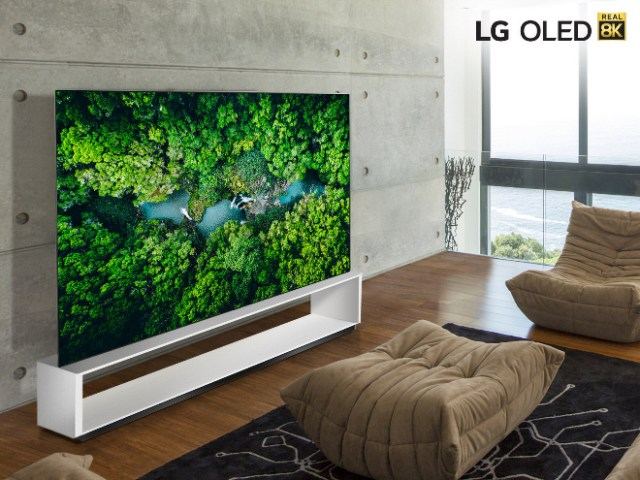 LG's new 8K TVs support Apple AirPlay 2 and HomeKit
