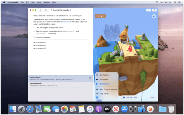 Apple releases Swift Playgrounds for Mac