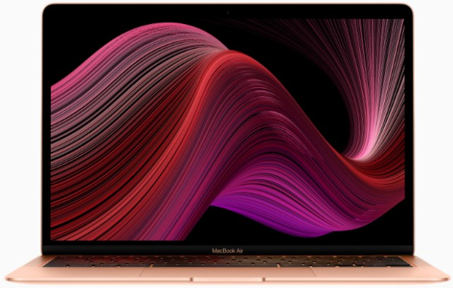 MacBook Air now features the new scissor-switch Magic Keyboard, delivers up to two times faster performance and starts at a new lower price of $999.