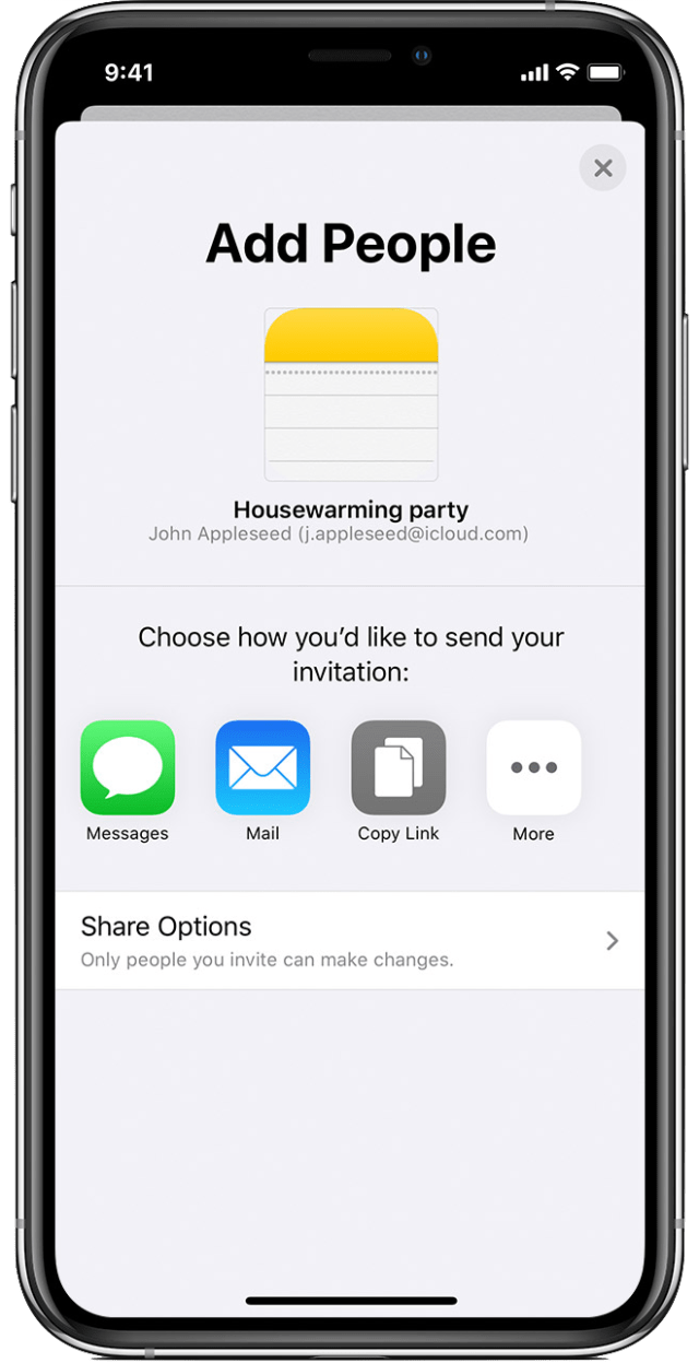 help at-risk neighbors using Apple's Notes app