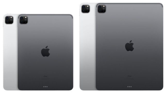 Which size iPad Pro? Image: Apple's iPad Pro 11-inch and 12.9-inch models come in Silver and Space Gray