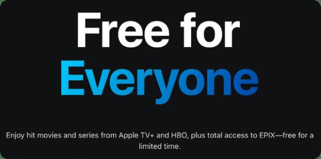 Apple TV+ free