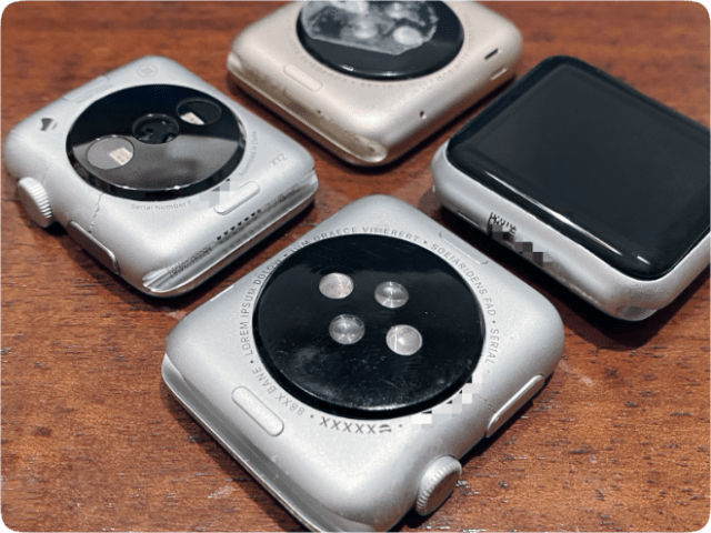 Apple Watch Prototypes. (Photo: Giulio Zompetti)