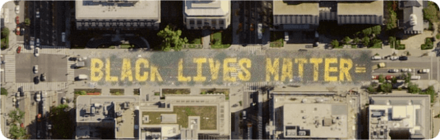 Apple Maps updated to show 'Black Lives Matter' street painting