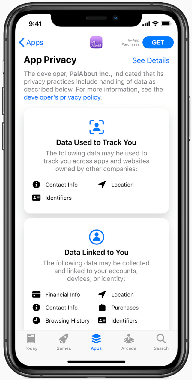 Developers can now better inform and educate users of their app's privacy policies right in the App Store.