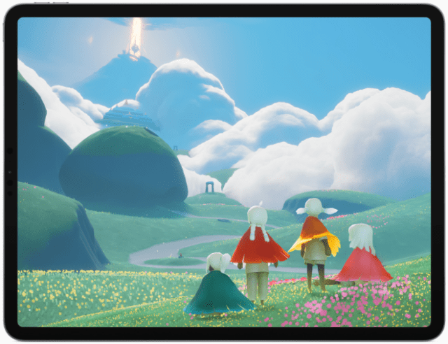"""Sky: Children of the Light,"" from thatgamecompany, based in Los Angeles."