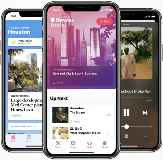 Apple News+ audio stories, a new daily audio briefing, and curated local news collections are all available now in Apple News.