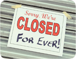 COVID-19 closed tens of thousands of businesses - forever