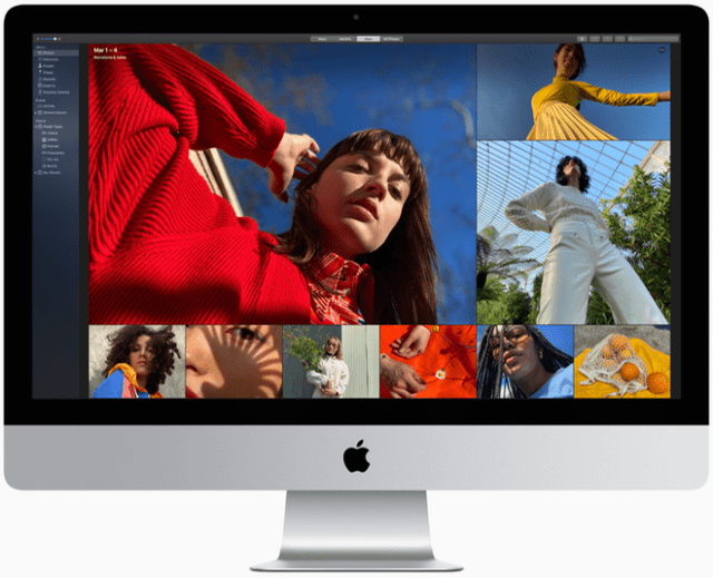 A nano-texture glass option brings an innovative matte finish to the iMac Retina 5K display for extremely low reflectivity while maintaining stellar image quality.