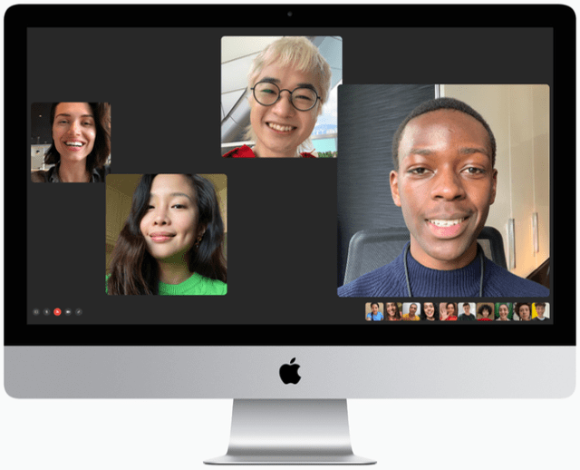 The 27-inch iMac now has a 1080p FaceTime HD camera for a higher quality experience when connecting with friends, family, and colleagues.