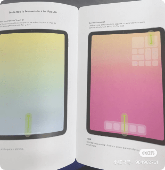 Leaked iPad Air 4 manual reveals all-screen display with Touch ID built into power button
