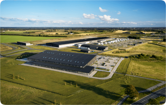 Like all of Apple's data centers, the company's Viborg data center is running on 100 percent renewable energy.
